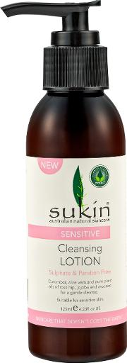 Sukin sitive Cleansing Lotion 125ml