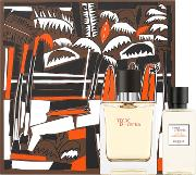 Hermes Terre D'hermes Eau De Toilette 50ml & Shower Gel 40ml