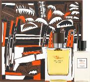 Hermes Terre D'hermes Vetiver Eau De Parfum 50ml & Shower Gel 40ml