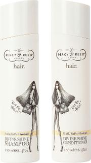 Percy & Reed Really Rather Radiant Divine  Shampoo & Conditioner Duo 2 X 250ml