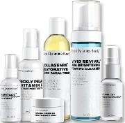 Herbal Dynamics Beauty Brightening Care Routine Bundle For Dull Or Uneven  Types
