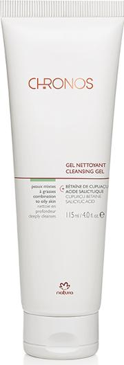 Natura Brasil Chronos Cleansing Gel Combination To Oily  115ml