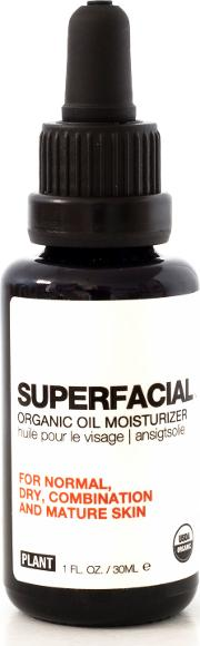 Plant Apothecary Superfacial Organic Oil Moisturizer For Normal, Dry, Combination And Mature  30ml