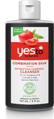 Yes To Tomatoes Detoxifying Charcoal Cleanser Combination  147ml