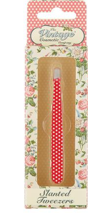 The Vintage Cosmetics Company Rosie Spot anted Tweezers