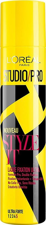 L'oreal Paris  Pro Lock It Ultra Strong Fixing Hairspray 75ml