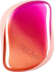 Compact Styler Hairbrush Cerise Pink Ombre