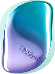 Compact Styler Hairbrush Petrol Blue Ombre