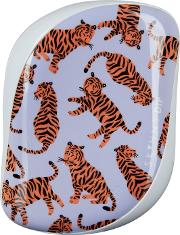 X Skinny Dip Compact Styler Hairbrush Trendy Tiger