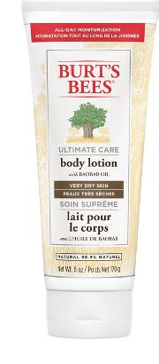 Burt S Bees  Care Body Lotion 170g