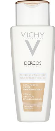 Dercos Nourishing Cream Shampoo 200ml