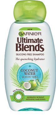 Garnier Ultimate Blends Coconut  & Aloe Vera Shampoo 250ml
