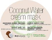 In.gredients Coconut  Cream Mask