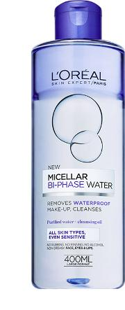 L'oreal Paris Bi Phase Micellar Cleansing  400ml