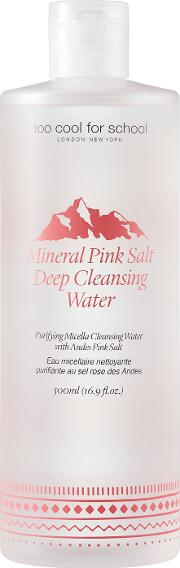 Too Cool For School Mineral Pink Salt Deep Cleansing  500ml