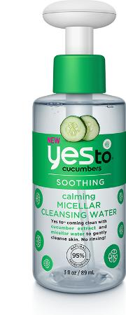 Yes To Cucumbers Calming Micellar Cleansing  Travel Size