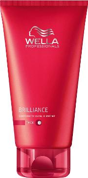 Professionals Brilliance Colour Enhancing Conditioner For Coarse, Unruly Hair 200ml