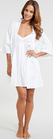 Cotton Nightwear Short Robe