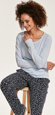 Pj In A Box Knit Long Sleeve Pant Set