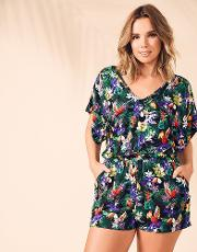 Toucan Tropic Jersey Playsuit