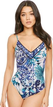 Legacy V Neck Underwired Swimsuit