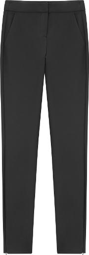 Ackland Black Skinny Cropped Trousers