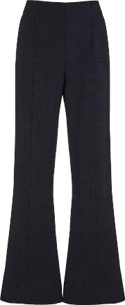 Barby Navy Tailored Flares