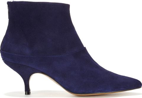 6d66821f892 Erica Navy Suede Ankle Boot
