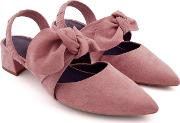 Lapsey Pale Pink Suede Shoes
