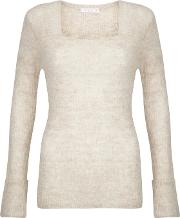 Laurie Oatmeal Mohair Mix Jumper