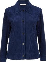 Leila Navy Cord Jacket