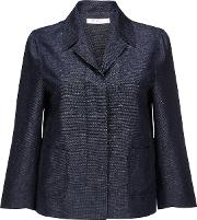 Miranda Indigo Blue Linen Mix Jacket