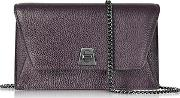 Blackberry Cervocalf Anouk Mini Envelope Bag