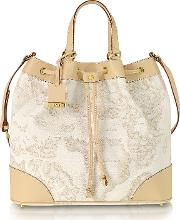 1a Prima Classe Geo Printed Neo Casual Bucket Bag