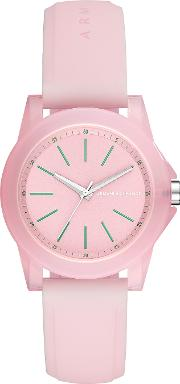 Lady Banks Pink Silicone Women's Watch