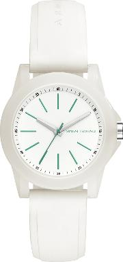 Lady Banks White Silicone Women's Watch