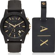 Watch With Luggage Tag