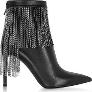 Black Leather & Chains Mercy Boots