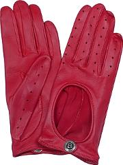 Dents Pittards Cabretta Red Driving Ladies Gloves