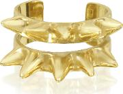 Double Band Bronze Ring Wspikes