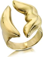 Mouth Bronze Ring