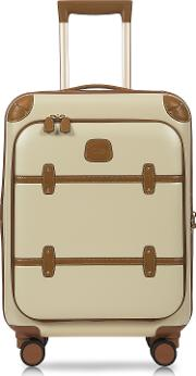 Bric's Travel Bags, Bellagio Business V2.0 21 Cream Carry On Spinner