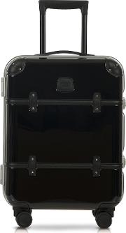 Bric's Travel Bags, Bellagio Metallo V2.0 21 Black Carry On Spinner Trunk