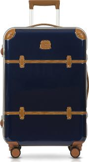 Bric's Travel Bags, Bellagio Metallo V2.0 25 Blue Carry On Spinner Trunk