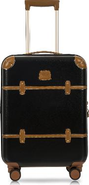Bellagio V2.0 21 Black Tobacco Carry On Spinner Trunk