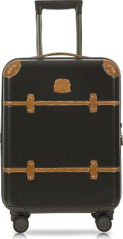 Bric's Travel Bags, Bellagio V2.0 21 Olive Carry On Spinner Trunk