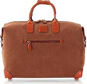 Bric's Travel Bags, Life Camel Micro Suede 18 Duffle Bag