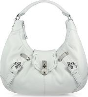 Large Pebble Leather Hobo Bag