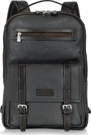 And Brown Leather Backpack