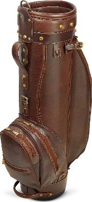 Prestige 8 Genuine Italian Leather Golf Bag